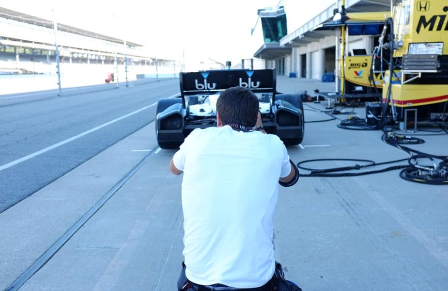 Blu Indy – Behind The Scenes